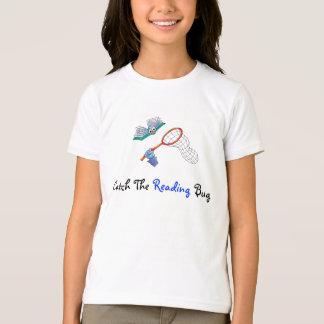 T-Camisa-Captura el insecto de la lectura Camiseta