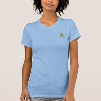 T-Camisa-Personalizar dulce de Fifteenr del azul y