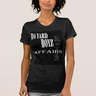 T negros de Boyz de la yarda de DA Camisetas