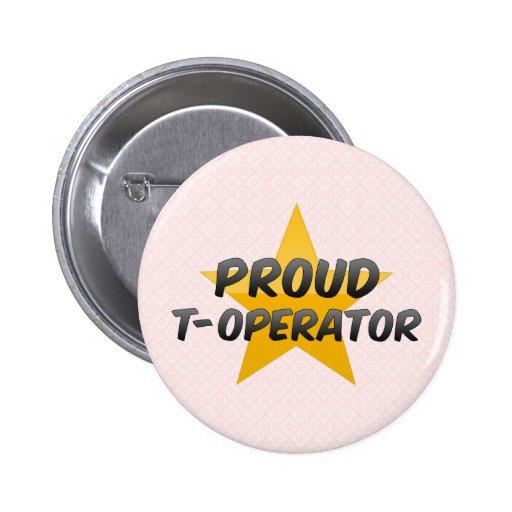 T-Operador orgulloso Pins