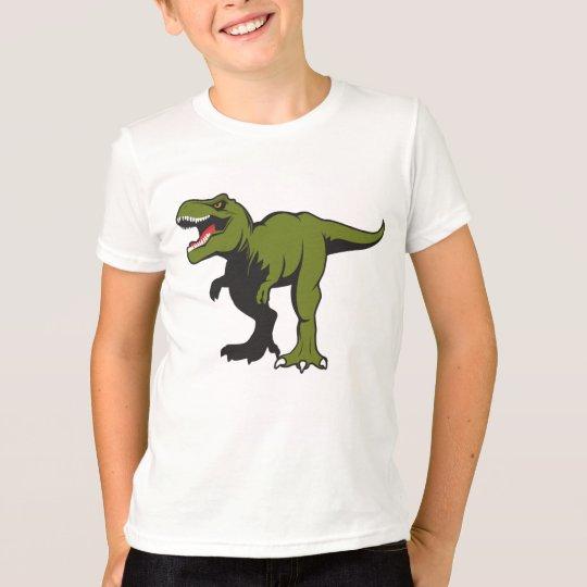 T-Rex personalizado embroma la camiseta