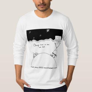 T-S largos americanos de la manga de los hombres Camiseta