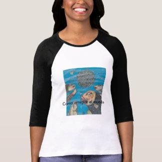 t-sheer with art camiseta