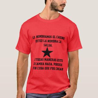 T - shirt Casino allí Salsa Camiseta