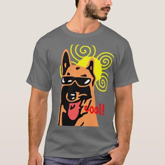 t-shirt de Malinas enrollado Camiseta