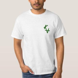 T-shirt KA verde Noël Camiseta