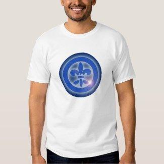 Camiseta Hombre Flor de Lis Ho Oponopono