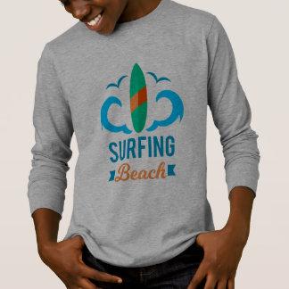 T - shirt Muchacho Surf Camiseta