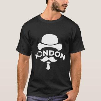 T-Shirt Noir London by Ciel My Moustache Camiseta