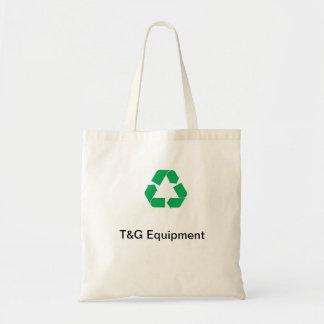 T y G que reciclan el bolso de compras