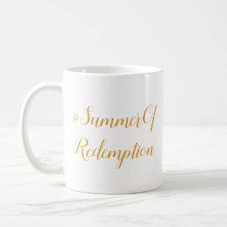 Tabaco Sun, taza de café del #SummerOfRedemption
