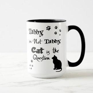 Tabby o no taza del amante del gato de Shakespeare