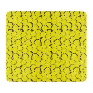 Tabla De Cortar Amarillo texturizado piña