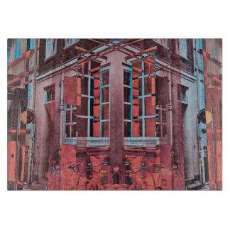 Tabla De Cortar Arte digital de Copenhague de la reflexión azul