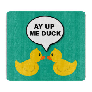 Tabla De Cortar Ay encima de mí tajadera del pato