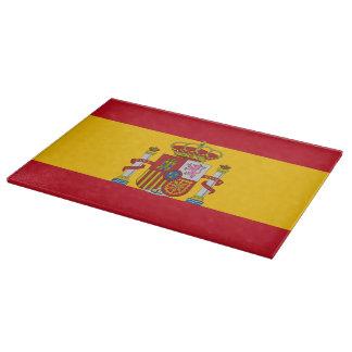 Tabla De Cortar Bandera española