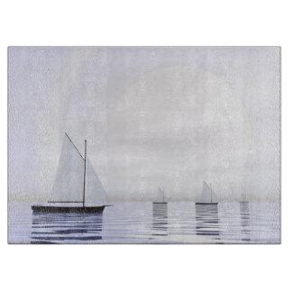 Tabla De Cortar Barcos de navegación - 3D rinden