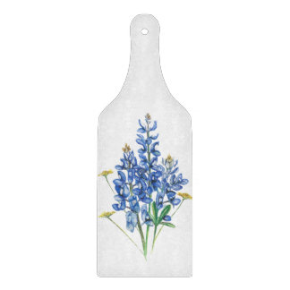 Tabla De Cortar Bluebonnets y Wildflowers