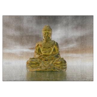 Tabla De Cortar Buda de oro - 3D rinden