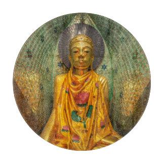 Tabla De Cortar Buda de oro en templo