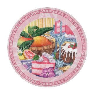 Tabla De Cortar Café de la isla - postre de la gasa de la guayaba