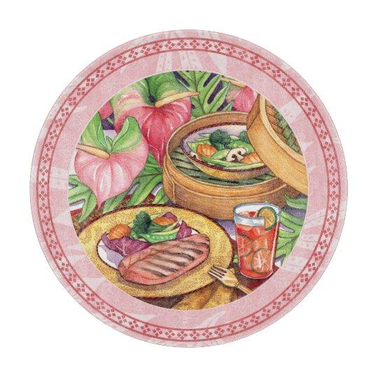 Tabla De Cortar Café de la isla - vapor de bambú