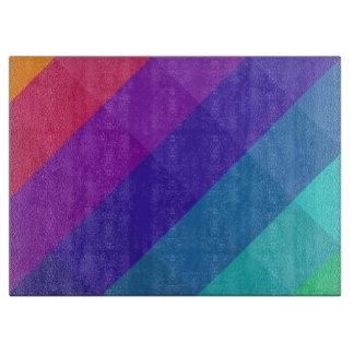 Tabla De Cortar Colores cúbicos