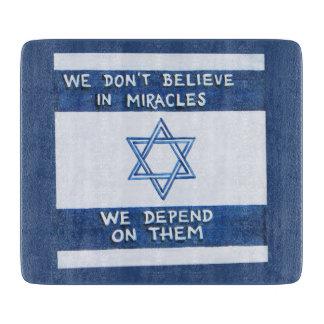 Tabla De Cortar Dependemos de los milagros - Rosh Pina