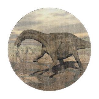 Tabla De Cortar Dinosaurio del Dicraeosaurus que camina - 3D