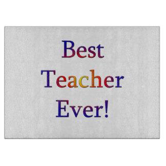 Tabla De Cortar El mejor profesor nunca