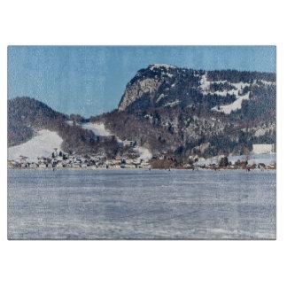 Tabla De Cortar El valle de Joux en el cantón de Vaud