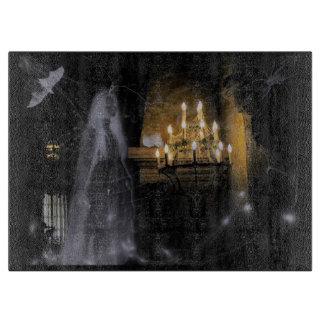Tabla De Cortar Fantasma de Halloween que talla al tablero