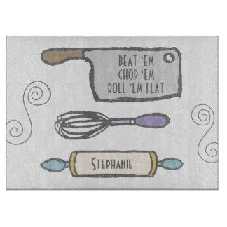 Tabla De Cortar Herramientas personalizadas diversión de la cocina