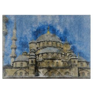 Tabla De Cortar Mezquita azul en Estambul Turquía