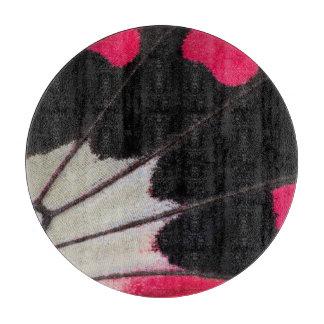 Tabla De Cortar Modelo del ala del detalle de la mariposa tropical