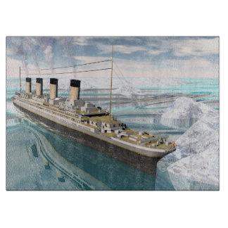 Tabla De Cortar Nave titánica - 3D rinden