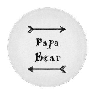 Tabla De Cortar Oso de la papá