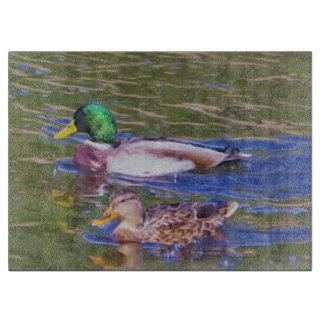 Tabla De Cortar Patos del pato silvestre