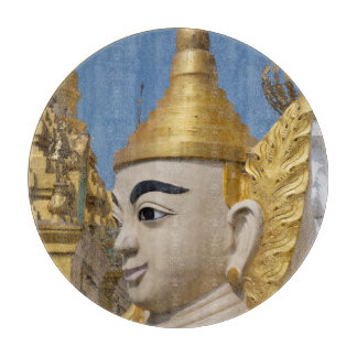 Tabla De Cortar Perfil de la estatua de Buda