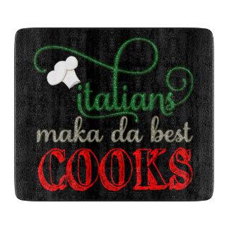 Tabla De Cortar Porque, los italianos hacen realmente a los