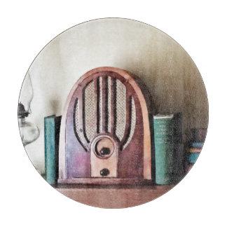 Tabla De Cortar Radio de los años 30 del vintage