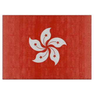 Tabla De Cortar Tablero del corte del vidrio con la bandera de