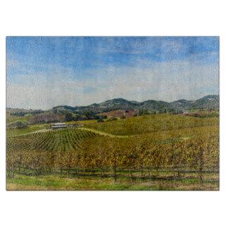 Tabla De Cortar Viñedo de Napa Valley California