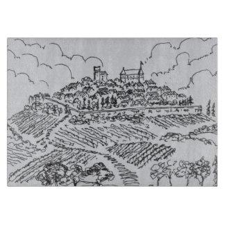 Tabla De Cortar Viñedos de Sancerre el   el valle del Loira,