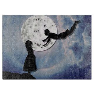 Tabla De Cortar vuéleme al universo del corte del papel de la luna