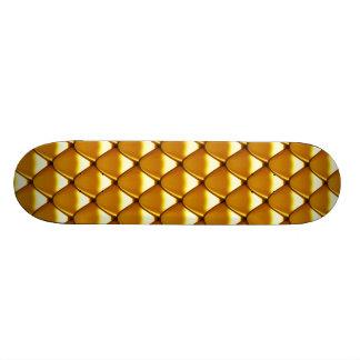 Tabla De Patinar Modelo elegante de la escala del oro