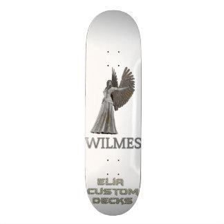 Tabla De Skate cubierta de la firma de los wilmes
