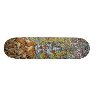 Tabla De Skate Cubierta de Rocket del plátano