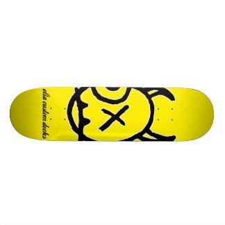 Tabla De Skate Cubierta del logotipo de la cara