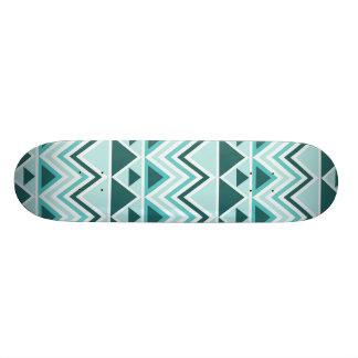 Tabla De Skate Galones tribales aztecas de los triángulos de las